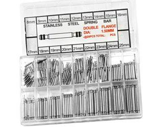 Generic. TY Stainl 340x 8–25mm Good -25mm G en Acier Inoxydable Montre Sangle Band Moins affûter de qualité en Acier Inoxydable Printemps Barrettes.