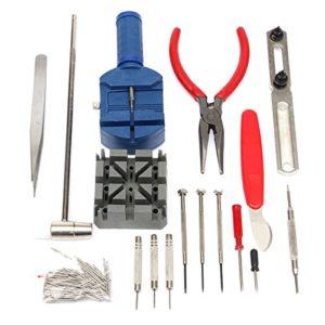 LMIAOM 124pcs trousse à outils arrière cas ouvreur remover épingle à ressort barre bar horloger Accessoires de bricolage