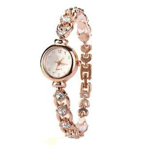 ❤️Montres Femme Amlaiworld Vente chaude De Mode De Luxe Femmes Montres Femmes Bracelet Montre Watch (Montre, Or)