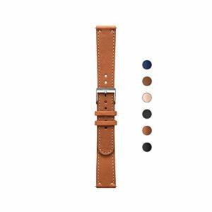 Nokia – Bracelet en cuir – Mixte Adulte – Brun – Taille: 36 mm