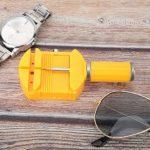Qkiss 5 pcs en Plastique Montre Bande Lien Broches Réglable Remover Réparation Outil Montre Accessoires