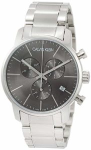 Calvin Klein Montre bracelet quartz chronographe acier inoxydable k2g27143