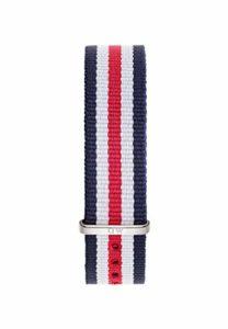 Daniel Wellington – 0806DW – Canterbury – Bracelet de Montre Mixte – Nylon Multicolore
