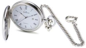 Dugena – 4460304 – Montre de poche Mixte adulte – Quartz – Analogique – Bracelet