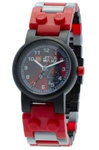 Lego – 9002953Star Wars – Darth Maul – Coffret Cadeau – Montre Garçon – Quartz Analogique – Bracelet Plastique Rouge + Figurine