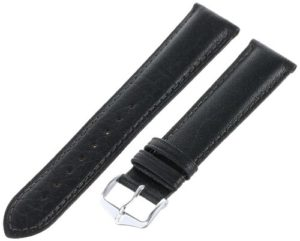 'Hirsch 010090–50–20W 20–mm en cuir véritable brut, Allergy No Watch Strap Doublure