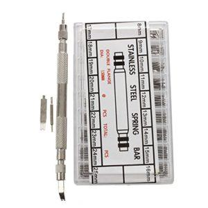 SODIAL(R) 360 pcs Barres de ressort de montres en acier inoxydable 8-25 mm + epingles de Barre de ressort de montre