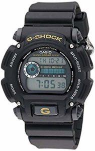 Casio DW9052 G-Shock Montre de sport et serviette de refroidissement pour homme, Homme, Matte Black / Black, taille unique
