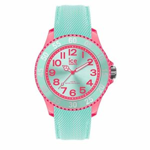Ice-Watch – ICE Cartoon Butterfly – Montre Verte pour Fille avec Bracelet en Silicone – 017731 (Small)