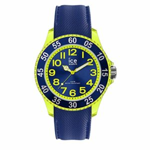Ice-Watch – ICE Cartoon Spaceship – Montre Bleue pour Garçon avec Bracelet en Silicone – 017734 (Small)