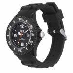Ice-Watch – ICE forever Black – Montre noire pour homme avec bracelet en silicone – 000143 (Large)