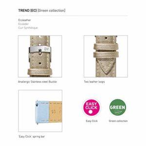 Morellato Bracelet de Montre pour Femme, Collection Easy Click, Mod. Trend, en Cuir synthétique – A01D5050C47