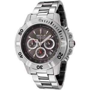 Sector – R3253945145 – Série 240 – Montre Homme – Analogique – Chronographe – Bracelet Acier