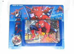SPIDER-MAN Watch and Wallet Set