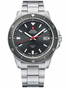 Swiss Military SM34082.03 Quartz pour homme 42 mm 5ATM