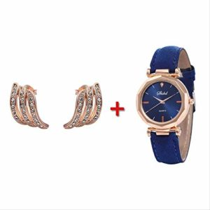 1 Set Femmes Brincos Viking G Choc Hommes Bracelet Montre Clouté Personnalité Stud Boucles d'oreilles pour Le Mariage Bijoux
