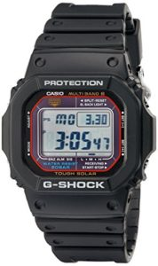 Casio GWM5610-1 Men's G-Shock Black Resin Multi-Band Atomic Digital Alarm Watch
