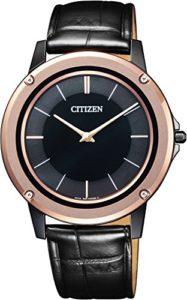 Citizen AR5025-08E Eco-Drive One Montre ultra plate pour homme 39 mm 3 ATM