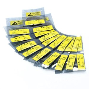 SODIAL(R) Joints Bagues d'etancheite en Caoutchouc 19 Types de Reparation de Montres