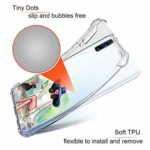 Suhctup Coque Filles Compatible pour Samsung Galaxy A20/A30,Etui [Antichoc Airbag] Transparent Silicone TPU Souple Mode Motif Crystal Housse de Protection Case pour Samsung Galaxy A20/A30,Filles 1