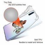 Suhctup Coque Filles Compatible pour Samsung Galaxy A6S,Etui [Antichoc Airbag] Transparent Silicone TPU Souple Mode Motif Crystal Housse de Protection Case pour Samsung Galaxy A6S,Filles 5