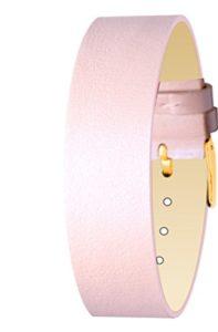 Bracelet Rose pour Femmes Moog Paris en Cuir Vachette, Largeur 18mm – SC-03G