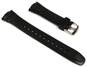 Casio Bracelet résine – plastique WVA-470, WVA-430E, WVQ-400E, WVA-620E, WV-M120E