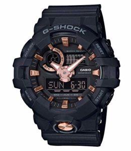 Casio G-SHOCK Homme Analogique-Digital Quartz Montre avec Bracelet en Résine GA-710B-1A4ER