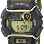 Casio Men's G-Shock GD400-9 Green Rubber Quartz Sport Watch