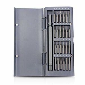 Donci 25pcs Kit nevis nevis Embout Set 25-en-1 nevis Précision Set avec 24 Bits & Carry Case Téléphone Mobile Kit De Réparation Outil Kit De nevis Magnétique pour Réparation