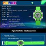FANPING Digital Kids Sport montre étanche for garçon de ménage Kid Sports de plein air horloges électriques LED, montres avec rétro-éclairage LED for les enfants (Color : Purple)