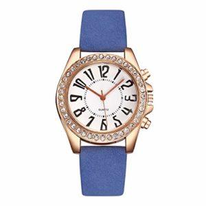 Femmes Montres Femmes Montre-bracelet Dames Montre Chiffres arabes Montres pour Femmes Mode Diamant