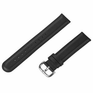ibasenice Bracelet de Montre en Cuir de 46 Mm avec Remplacement Rapide du Bracelet de Montre à Boucle à Boucle Compatible pour Montre Huawei GT2