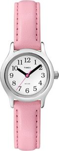 Timex -Enfant – T790814E – Kids Easy Reader – Quartz Analogique – Blanc – Rose – Imitation Cuir