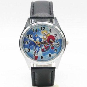 XINBANG Jouets soniques Sonic Watches Children Kids Boys Gift Watch Casual Watch