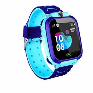 ZZJ Non étanche Intelligent Watch, numérique Montre téléphone iOS Android Cadeau Jouets Enfants de Multifonctionnel Enfants,Bleu