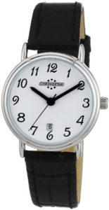 Chronostar – R3751123645 – Forever – Montre Femme – Quartz Analogique – Cadran Blanc – Bracelet en Cuir Noir