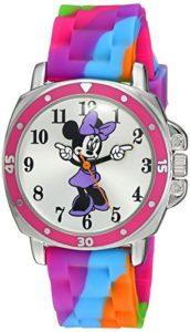 Disney MN1104 Montre Bracelet Fille Caoutchouc