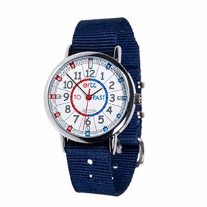 EasyRead time teacher ERW-RB-PT-NB Montre pour enfants Past-To, bleu marin (2 Couleurs disponibles)