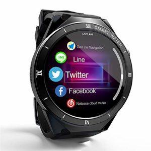 Montres intelligentes multifonctionnelles, montre de sports de plein air, montres-bracelets, données précises, pour le cyclisme, l'escalade, la randonnée, le basket-ball, la salle de sport-black