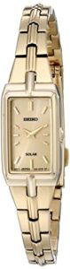 Seiko Watches SUP276 Montre Bracelet Femme Acier Inoxydable Or