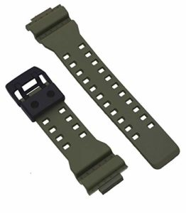 Casio 10549322 Genuine Factory Olive Green G Shock Replacement Band – GA700UC-5A