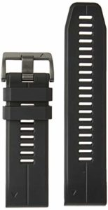 Garmin Remplacement Bracelet QuickFit 26 Watch Bands, Noir siliconee
