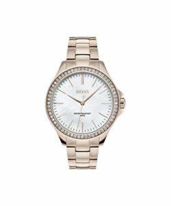 Hugo Boss Femmes Analogique Quartz Montres bracelet avec bracelet en Acier Inoxydable – 1502459