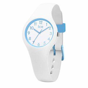 Ice-Watch – ICE ola kids Cotton white – Montre blanche pour garçon avec bracelet en silicone – 015348 (Extra small)