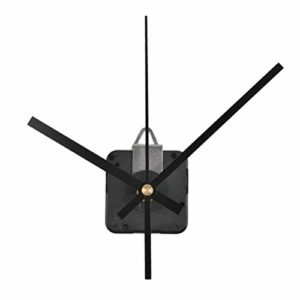 N A Kit de réparation de pièces de Mouvement de Montre à Quartz à axe Long 28 mm (Noir)