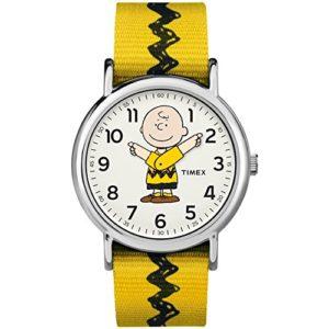 Timex Mixte Adulte Analogique Classique Quartz Montre avec Bracelet en Nylon TW2R41100