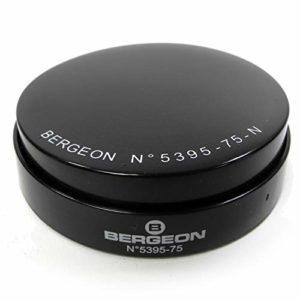 Bergeon 5395-75-N HC5395-75-N Étui de montre en gel Noir