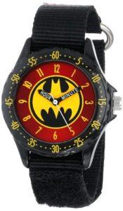 DC Comics BAT5036 Montre Bracelet Garçon Tissu Bleu