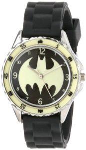 DC Comics BAT9004 Montre Bracelet Garçon Caoutchouc Noir